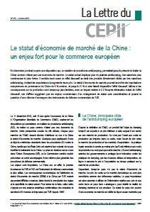 Octroi du statut d 39 conomie de march la chine quel - Statut chambre de commerce ...