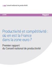 Vignette document Productivité et compétitivité : où en est la France dans la zone euro ?